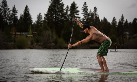 At KIALOA, they have developed blade sizes that fit a paddler's desired power needs.