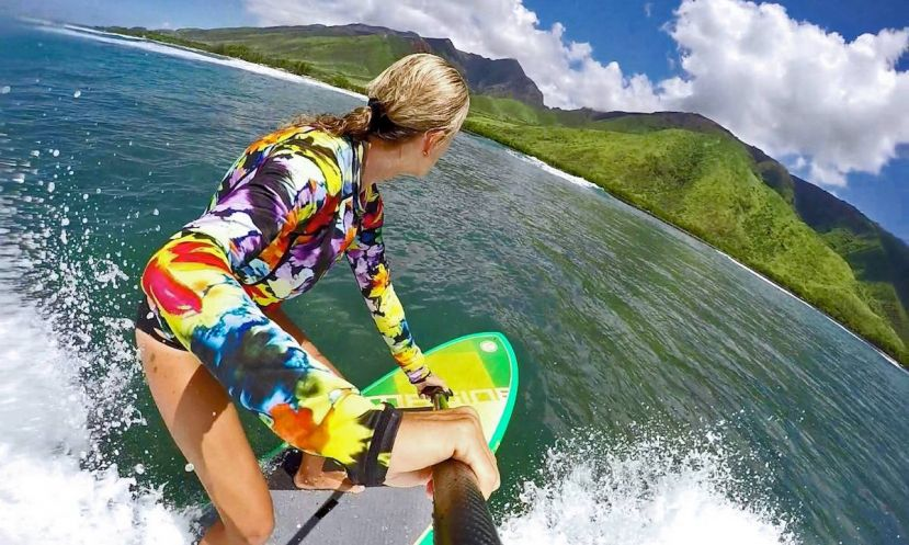 Suzie Cooney, author of the new 'bible' of SUP Training. | Photo via: Suzie Cooney