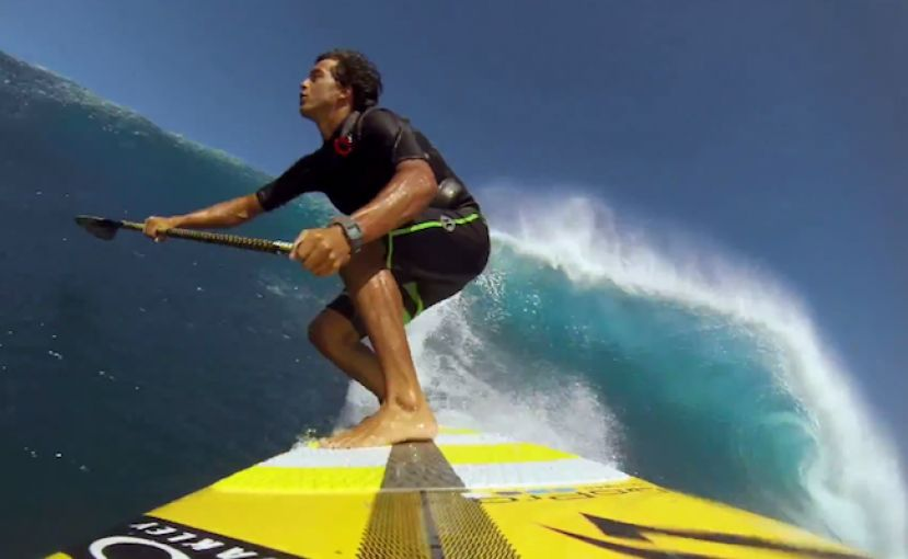 Kai Lenny's SUP/Surf/Wind Video