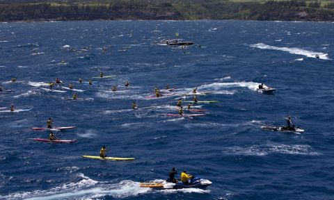 Record Numbers Enter Elite Stand Up Paddle Competition Representing 18 Countries. | Photo Courtesy: Olukai Ho'olaule'a