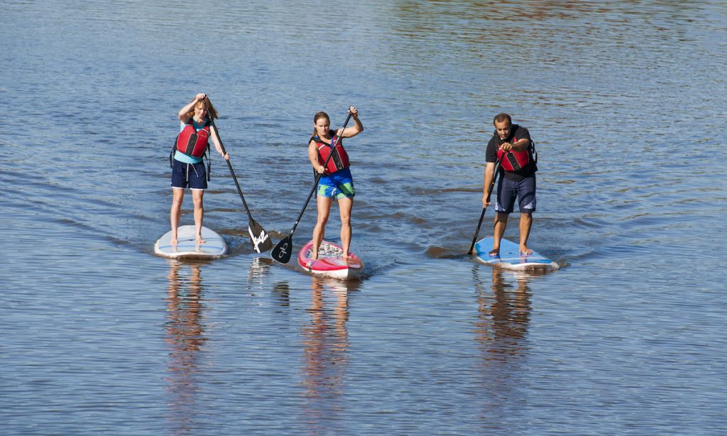 OKC Paddle Boarding – Urban, Suburban and on the Wild Side