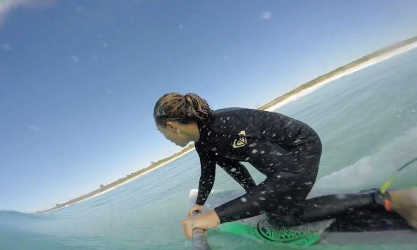 Shakira Westdorp SUP Surfing In Australia