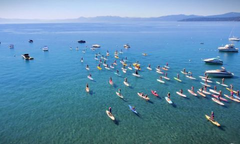 Hundreds gathered last year at the 2014 Butterfly Effect event in Lake Tahoe.