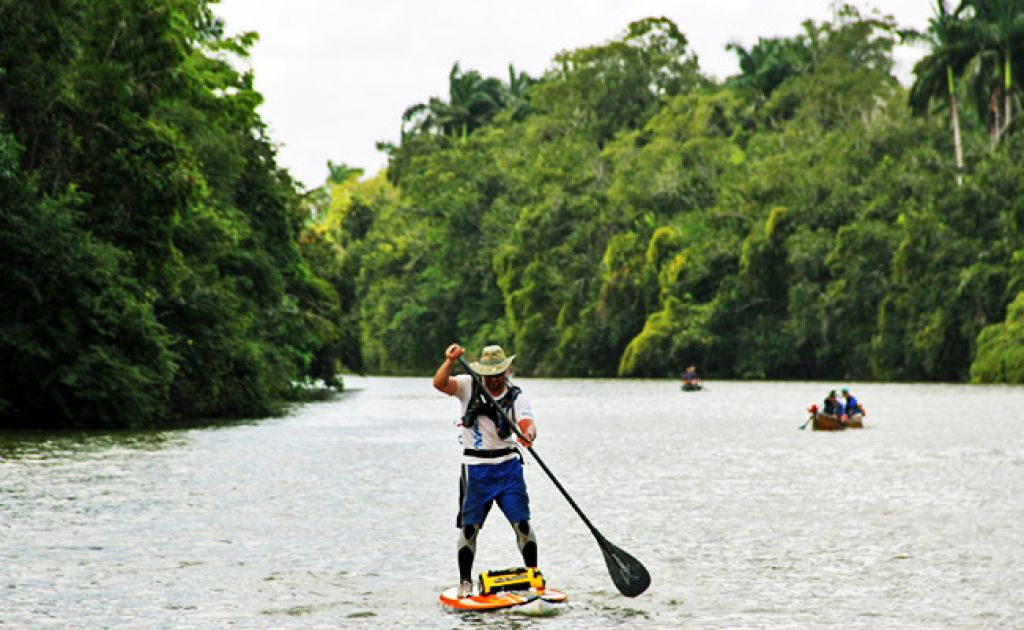 Shane Perrin Paddles 170-mile Ancient Mayan Route