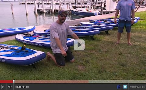 Mistral SUP and TKS Miami Team Up with ESPN's Mike & Mike Show