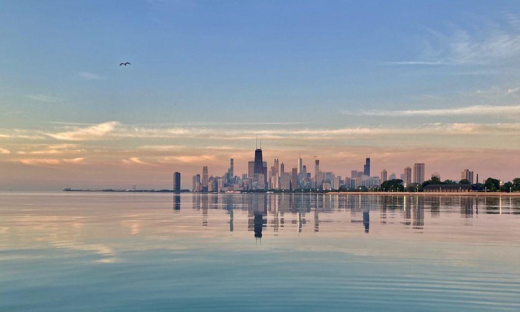 Paddle Boarding Chicago, Illinois