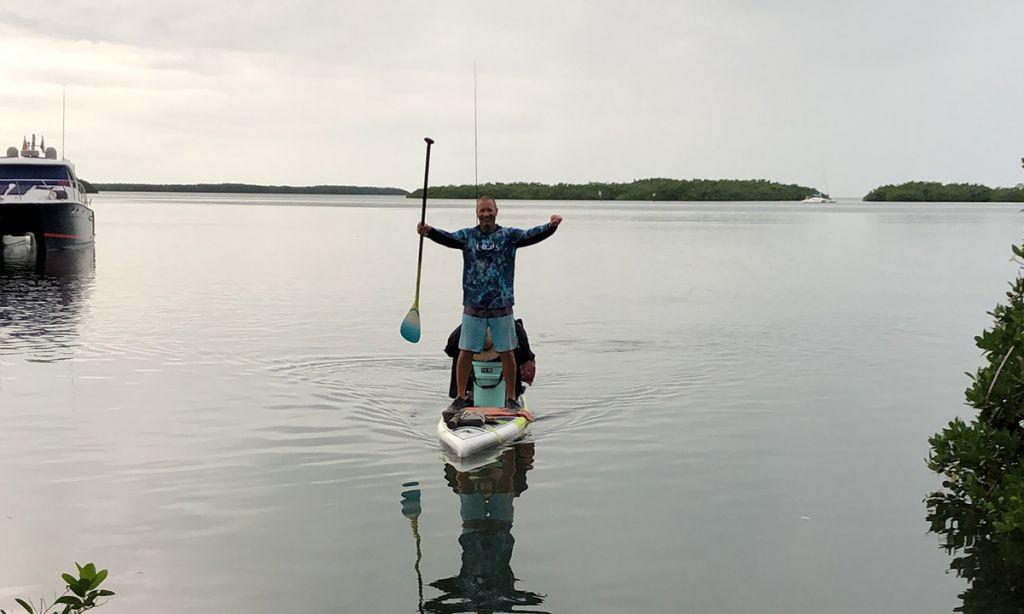 Florida Retiree Completes 140-Mile Everglades Expedition | Supconnect.com