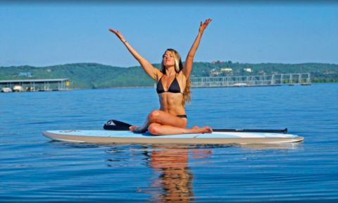 BIC SUP ambassador Jodelle Fitzwater. | Photo Courtesy: BIC SUP