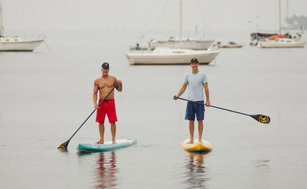 First Ever Attempt to SUP the Gulf Stream