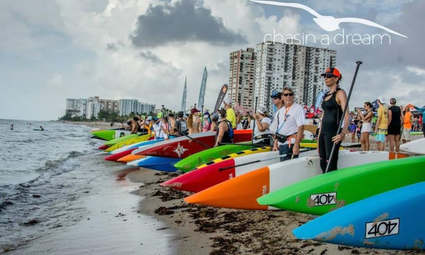The 2015 RK Sunshine SUP Series kicked off its first race on June 27 2015 in Pompano Beach, Florida.