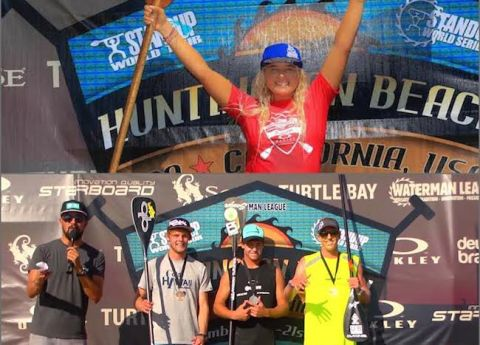 Izzi Gomez And Connor Baxter Nab SUP World Titles