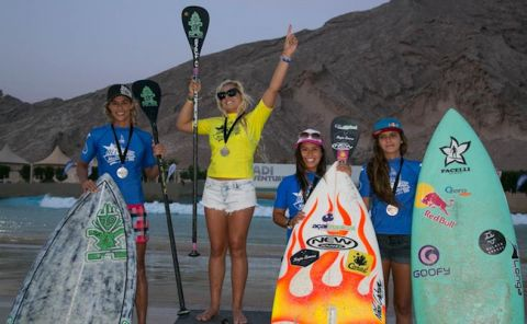 Izzi Gomez Wins Abu Dhabi All Stars 2014