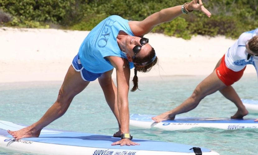 H2YO SUP Yoga Course Offered In California