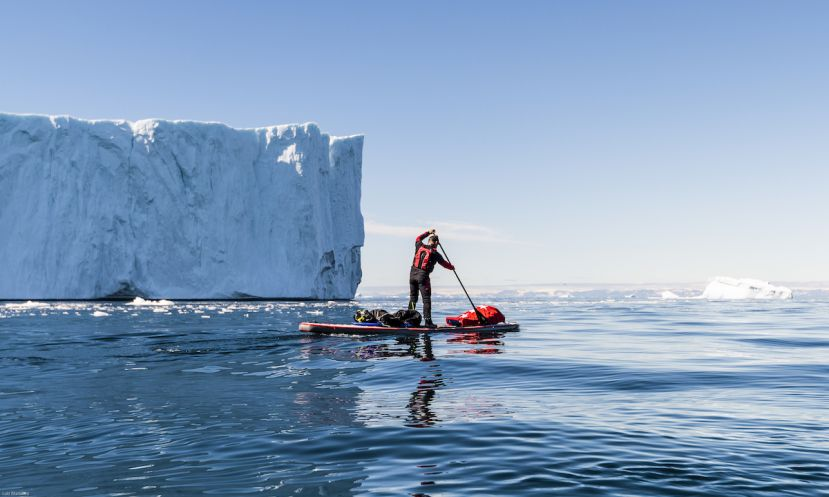 Stand Up Paddle Adventure Around The Arctic Circle