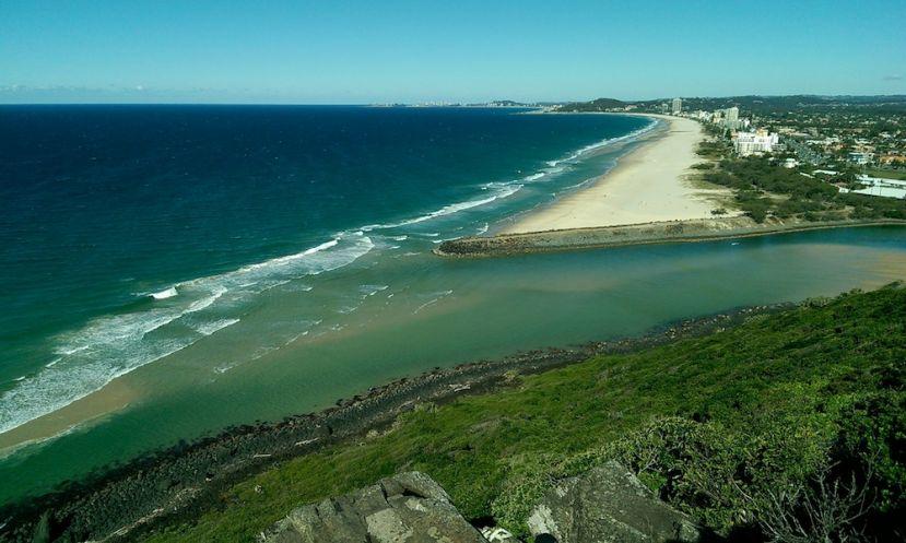 Paddle Boarding Gold Coast, Australia