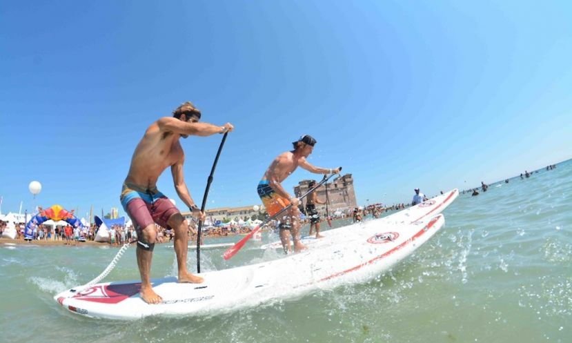 Italia Surf Expo World SUP Challenge is to kick off next weekend as the prestigious European Cup Final at this unique beach festival. | Photo Courtesy: boardaction.eu