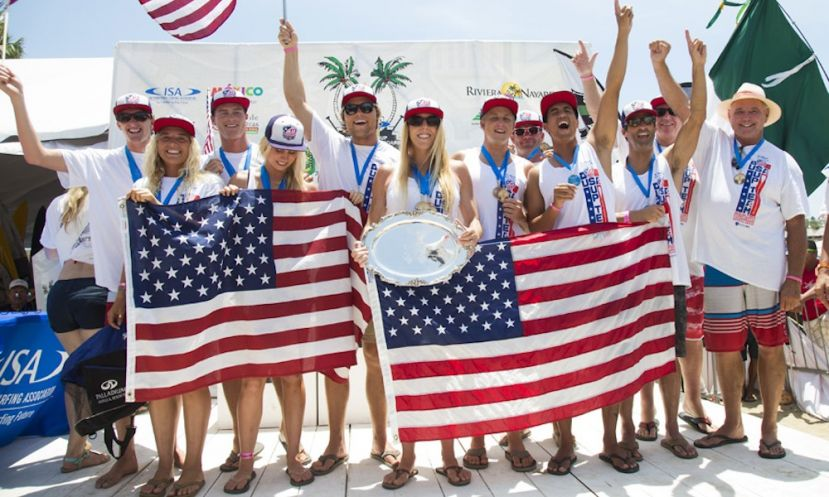 Team USA in 2015. | Photo: ISA / Reed