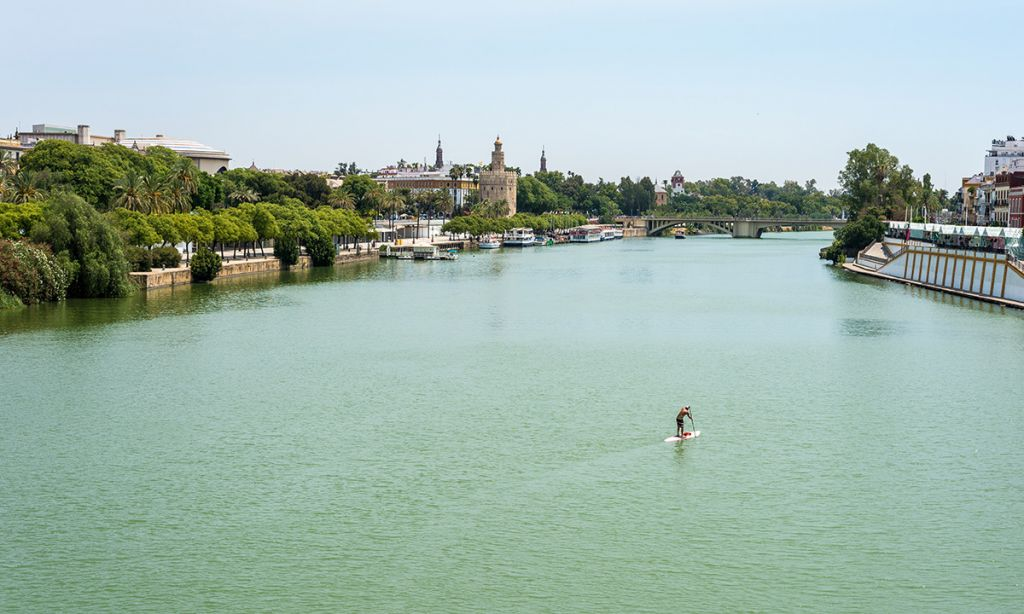 Paddle Boarding Seville, Andalusia, Spain