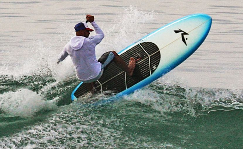 Rusty SUP Surfboards Enter Crowdless Surf