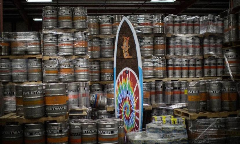 BOTE Boards and Sweetwater Brewing Co. are teaming up in an effort to keep waterways clean.