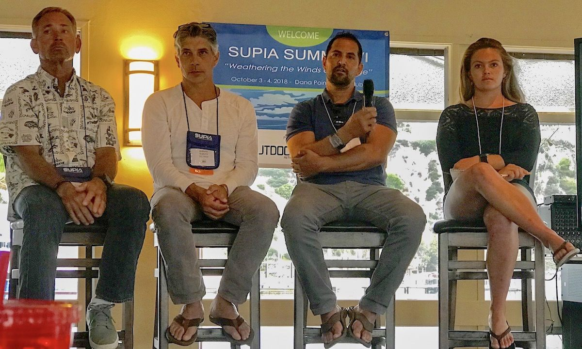 SUPIA Summit panel with WPA, SUPIA, ICF, and Paddler's Collective representatives. | Photo courtesy: Supconnect