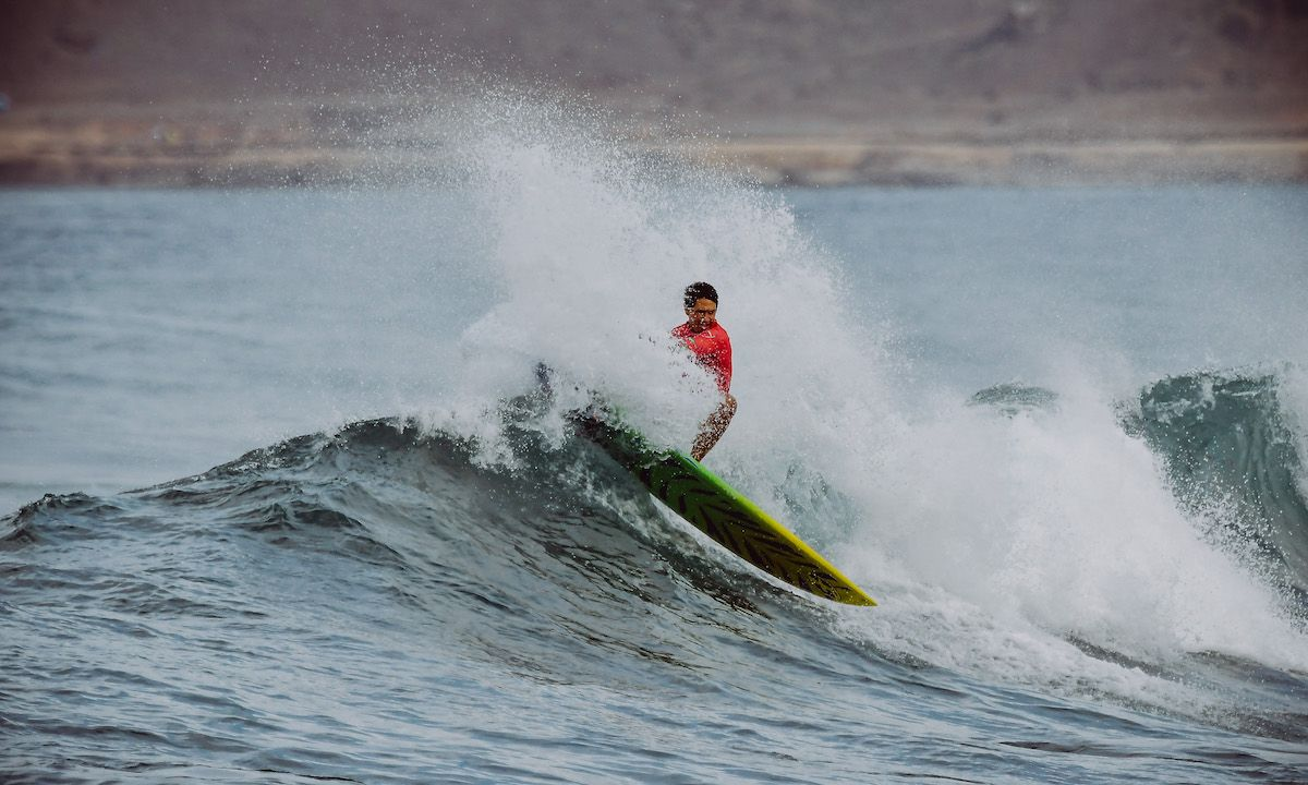 2019 SUP Surfing World Champion, Poenaiki Raioha | Photo: Gran Canaria Pro-Am / APP World Tour
