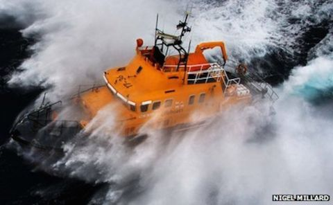 Man Rescued After Being Lost At Sea For Hours