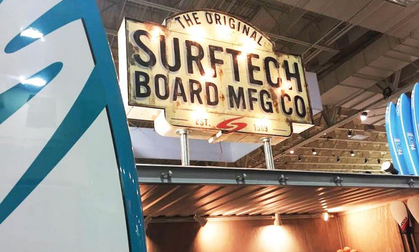 "Surftech announces its new 2016 ""Explore"" collection at the 2015 Outdoor Retailer show. 