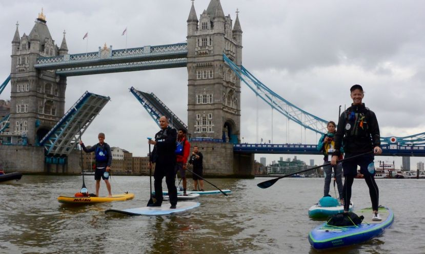 Thames River Opens Up to Paddlers During Big Ben Challenge