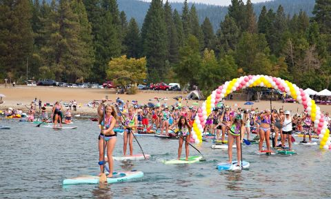 The Butterfly Effect Lake Tahoe event was a great success. | Photo: Peter Spain
