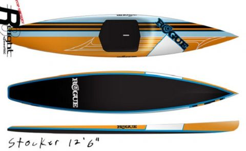Rogue Stand Up Paddleboards - Outlaw 12'6
