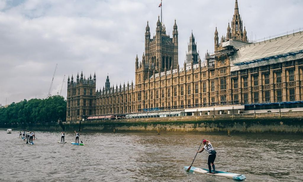 Athletes Deliver Heroic Performances at 2019 London SUP Open