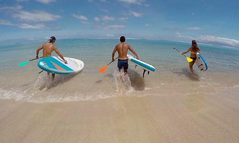 Go Into The Wild In SUP Paradise, Tahiti