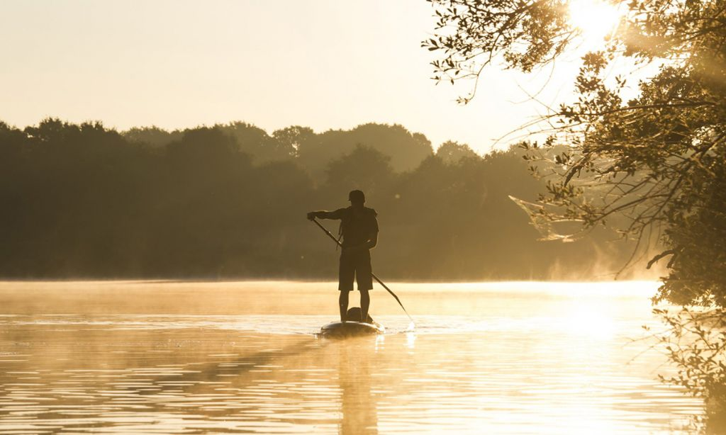 Paddle Boarding in Southwest Germany: The Outer Edge of Black Forest