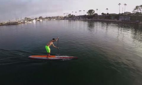 Watch the video highlights of the features of the 2015 Eradicator racing SUP's by Boardworks Surf.