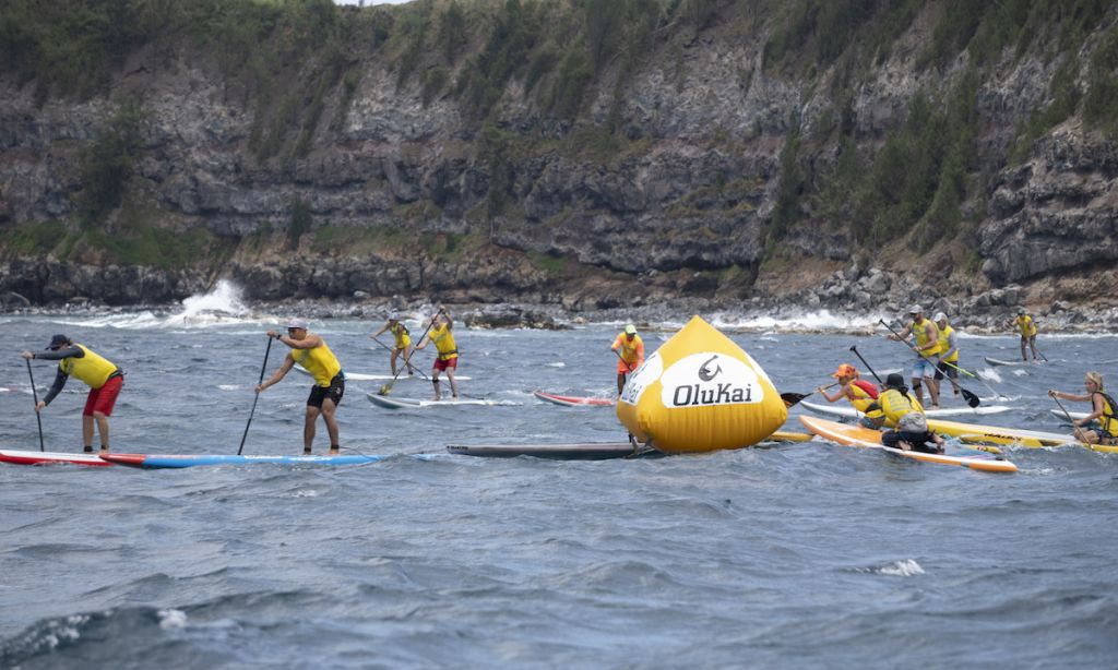 Locals Take Top Titles in 11th Annual Ho'olaule'a Paddleboard Race
