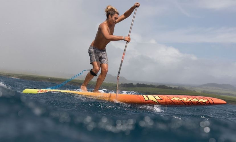 Naish team rider Bernd Roediger on the Maliko | Photo courtesy of Naish website