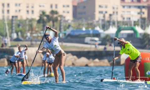 Appleby and Baxter Dominate In Opening Action At Barcelona Stand Up World Series