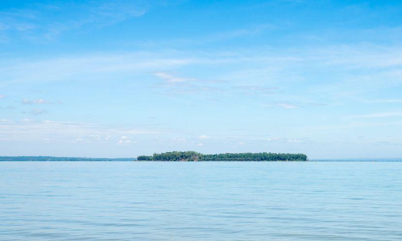 Paddle Boarding Tri An Lake, Vietnam