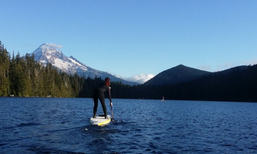 Paddle Boarding Oregon, U.S.A