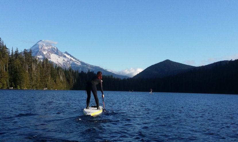Paddle Boarding Oregon, U.S.A