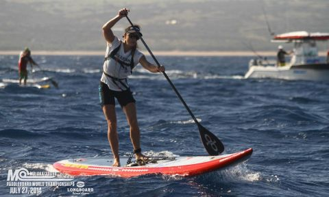 Andrea Moller will be going for her 3rd title at the 2015 M2O. | Photo: © Angel King Productions.