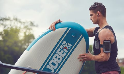 Jobe SUP navigates us through how to fix a leak in your inflatable SUP. | Photo Courtesy: Jobe SUP