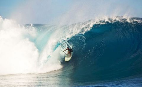 Cranking swell in a previous World Tour Stop in Tahiti.