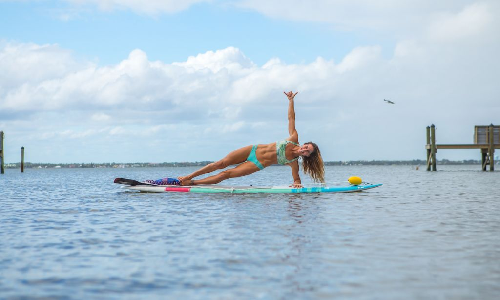 A Beginner's Guide to SUP Yoga