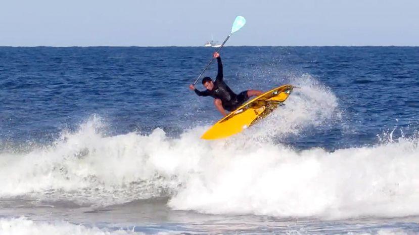 Watch Underground Brazilian SUP Surfer Luiz Diniz Rip