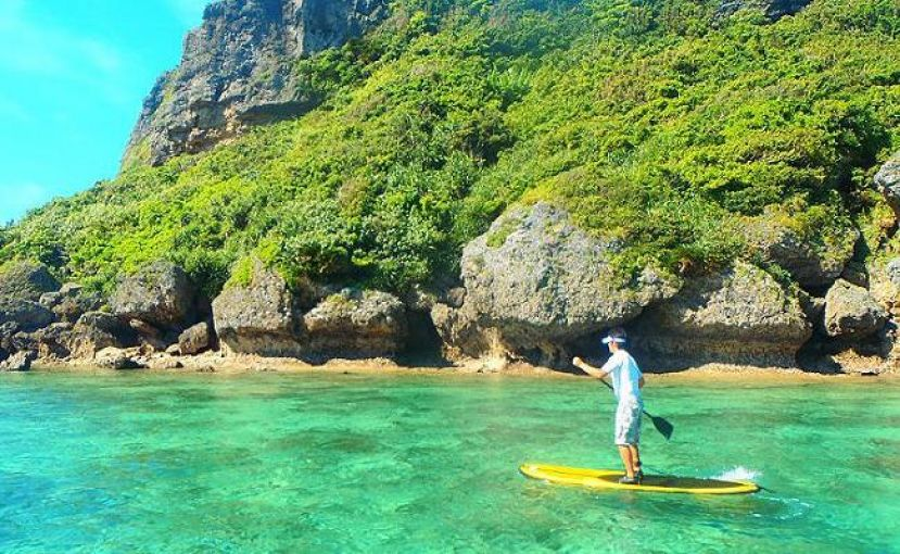 Paddle Boarding Okinawa, Japan