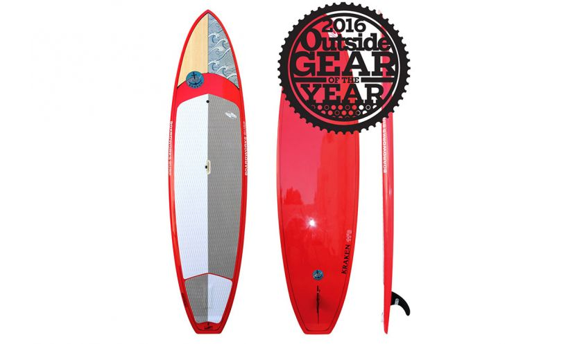 Boardworks Kraken 11' wins Outside Magazine Gear of the Year 2016.