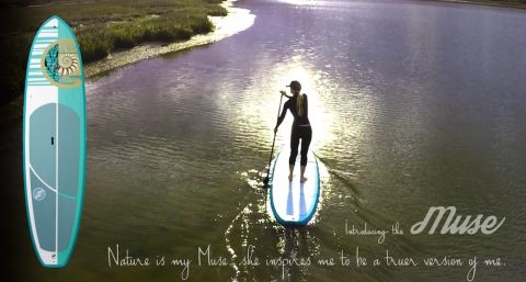 Boardworks introduces a new SUP designed specifically for women!