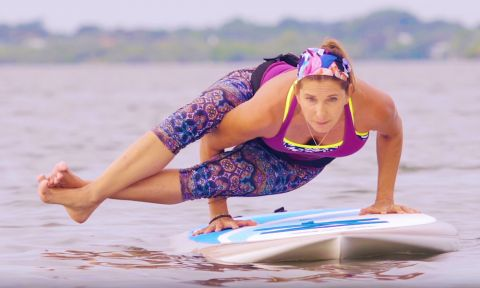 Have a look at the new 2016 Cross Paddle Board Series from BIC SUP.